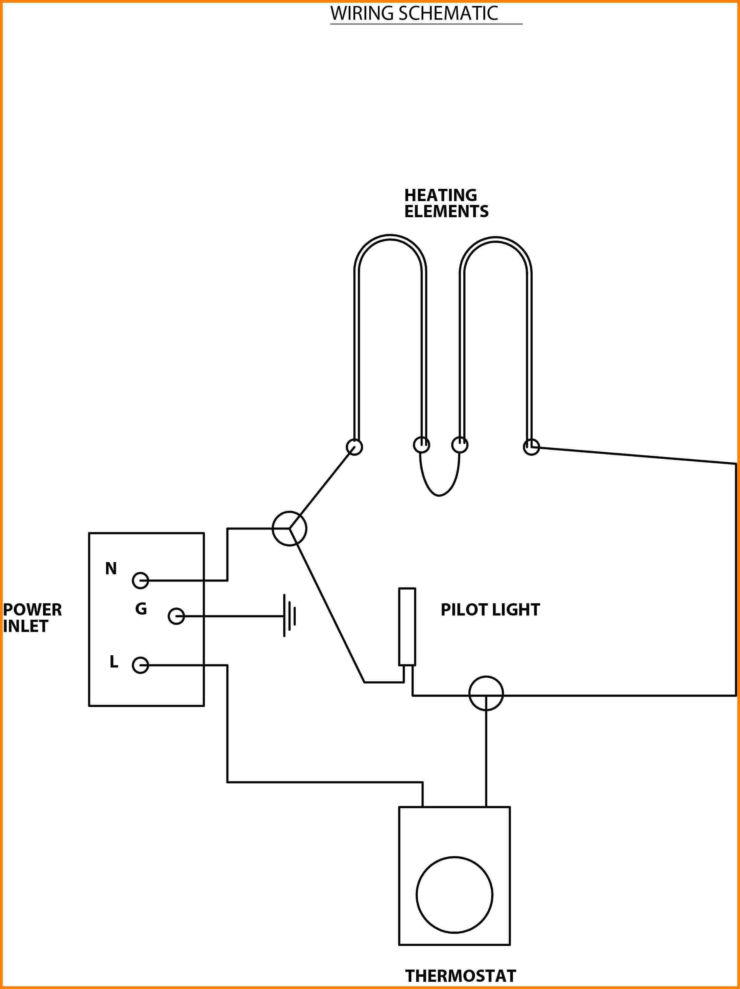 Wiring Diagram Heating Element Water Heater