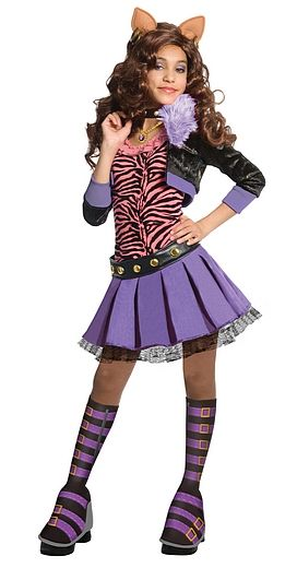 Claudine Costume Got It Style Monster High Halloween Wolf