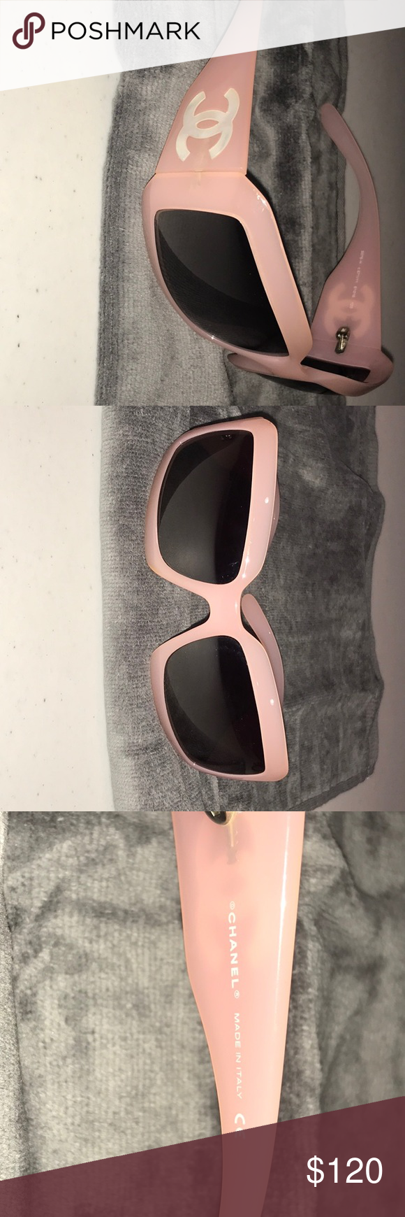 06374559fbb Chanel Sunglasses Chanel 5076 - H Pink with mother of pearl logo. Replaced  scratched lenses