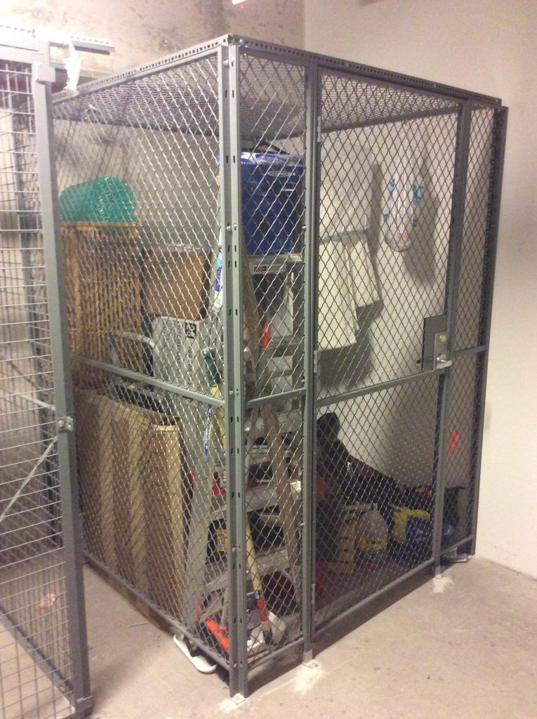 When space is limited, FordLogan ADA apartment storage cages ...