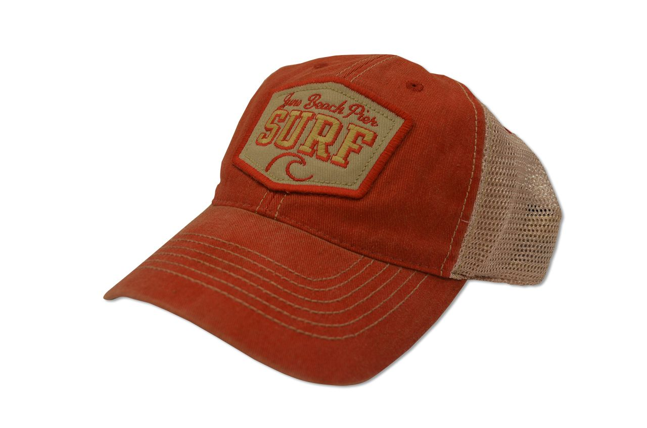 ab29afbb397 Juno Beach Pier Trucker Hat - loggerhead