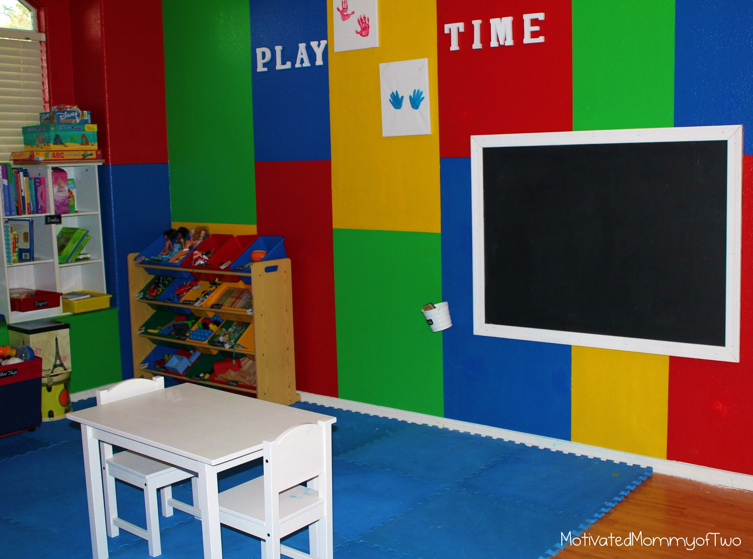 Elegant Primary Color Scheme:the Simplest Or Most Basic Color Schemes. The Pure  Hues Of. Kid PlayroomPlayroom IdeasPrimary ColorsWall ...