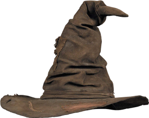 The Sorting Hat Wall Decal Harry Potter Sorting Harry Potter Sorting Hat Sorting Hat