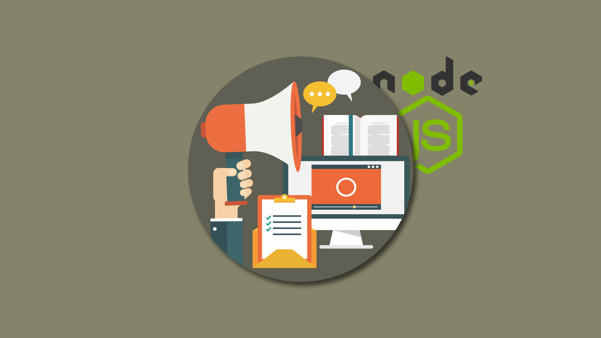 Learn To Build An Elearning Website Using Nodejs Use Coupon Code