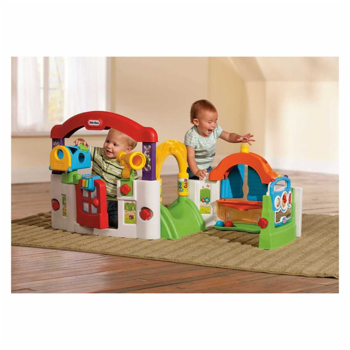 Little Tikes Storage Cabinet The Little Tikes Activity Garden Has A Variety Of Baby Toys And