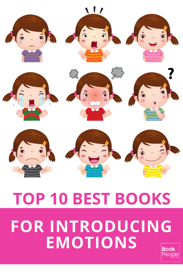 The top 10 best books to help your children understand their emotions