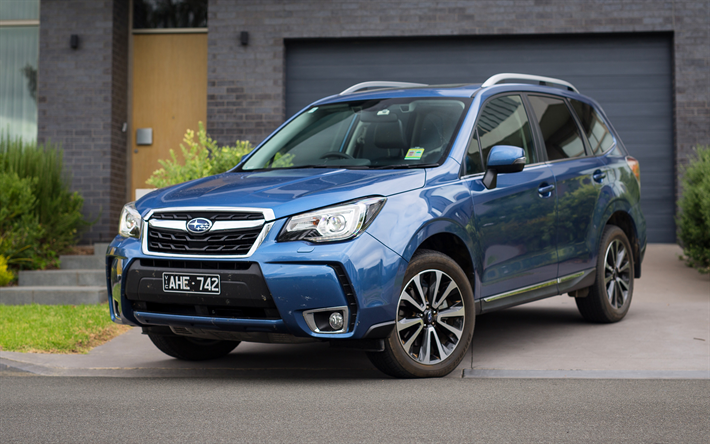Wallpapers Subaru Forester Xt 2017 Cars Crossovers Blue