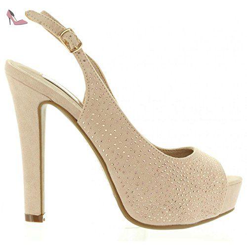Xti 30561 Blanco - Chaussures Escarpins Femme