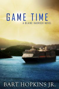 """FREE Mystery in """"Game Time"""" by Bart Hopkins Jr.  Game Timeby Bart Hopkins Jr. $3.49- FREE – Oct 2, 2014 The second Blaine Hadrock novel of suspense.It's springtime in Galveston again, and life is blooming. In Renee, also, as she and Blaine Hadrock deal with the aftermath of the events that occurred the previous summer (Play Time). But from the heights of a tall building and the depths of a seedy strip club come whispers that something else is blooming. So"""
