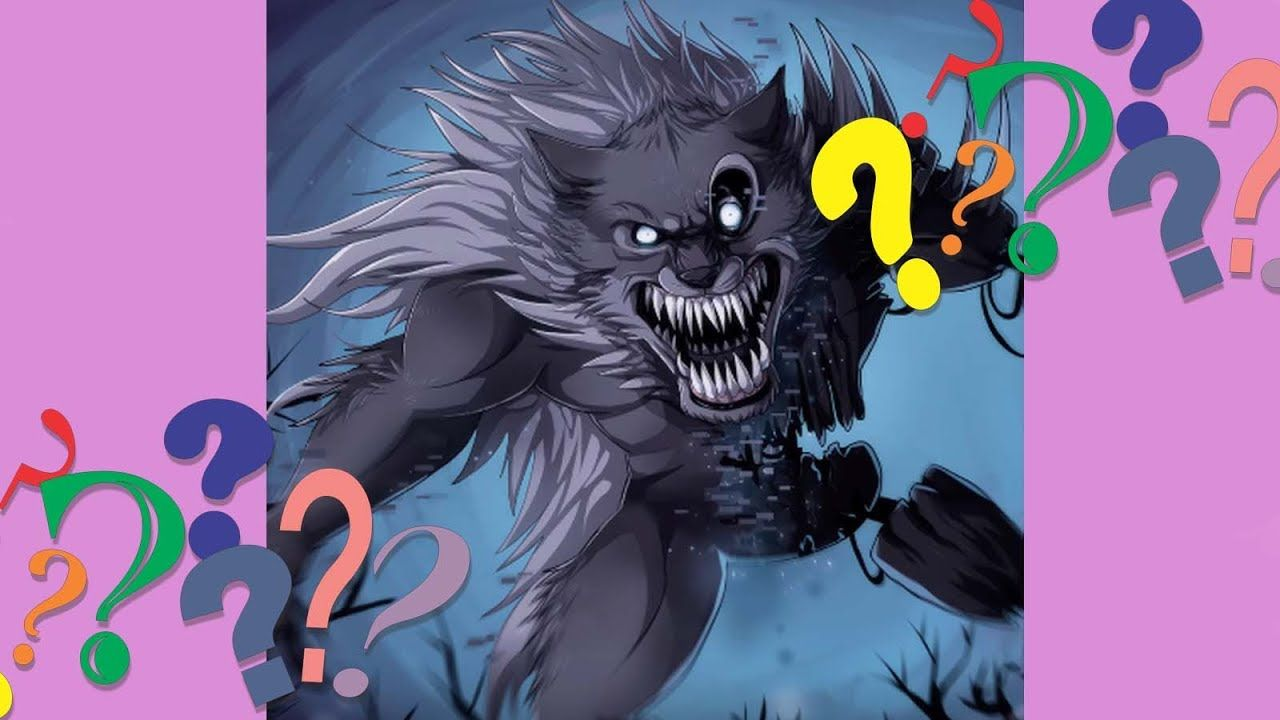 Drawing Twisted Wolf Animatronic Irl Five Nights At Freddy S The