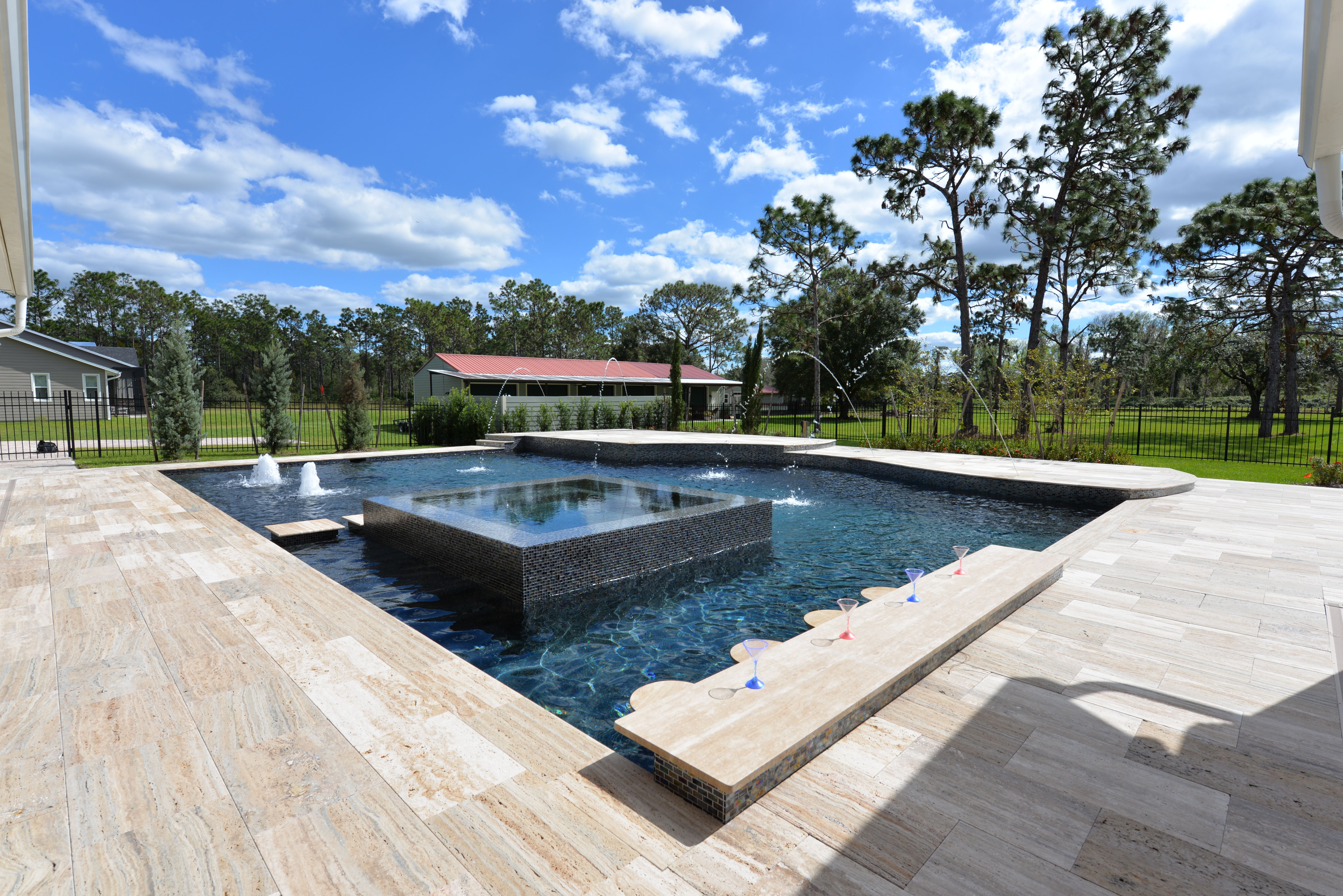 Surprising An Expansive Pool Built In Orlando Florida This Pool Has Download Free Architecture Designs Pushbritishbridgeorg