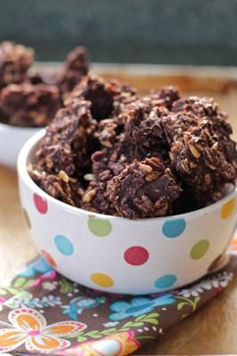 14 Healthy Desserts That Will Make You Fall In Love with Sunflower Seeds: Dark Chocolate Sunflower Seed Clusters
