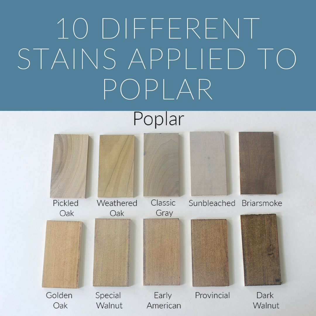 How 10 Different Stains Look On Different Pieces Of Wood Staining Wood Natural Stain Wood Weathered Oak Stain