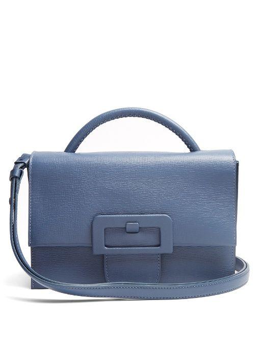 Maison Martin Margiela Buckle Detail Cross Body Bag Maisonmartinmargiela Bags Shoulder Hand Canvas Leather Lining