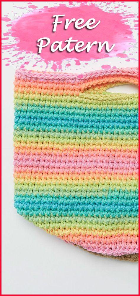 Crochet Bag For Women And Children Crafts Free Pattern Crochet