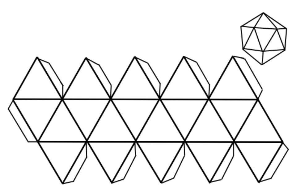 cuerpos geometricos para recortar y pegar resultado de