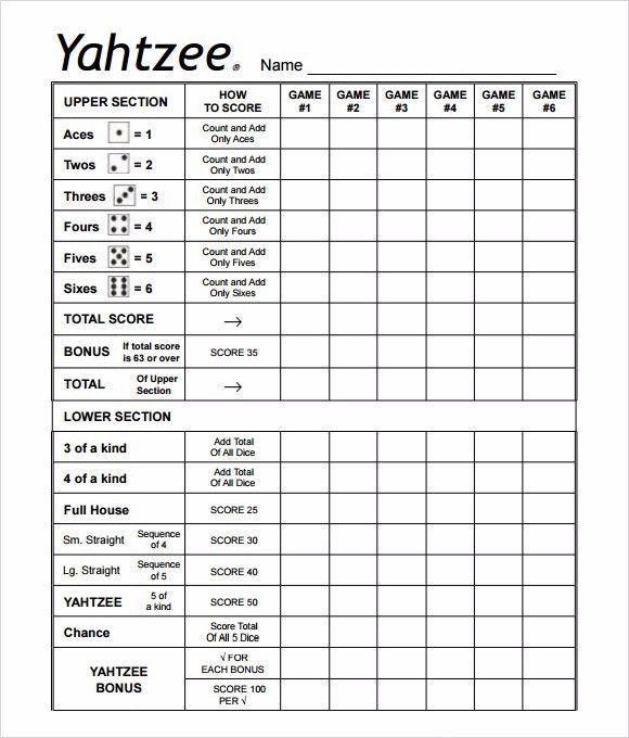 picture about Yardzee Score Card Printable named Yahtzee legal guidelines printable yahoo graphic glance achievements Artofit