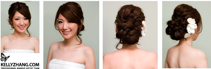 Hairs The Deal Wedding Bloomington Hair Picture Picture - Bun hairstyle for reception