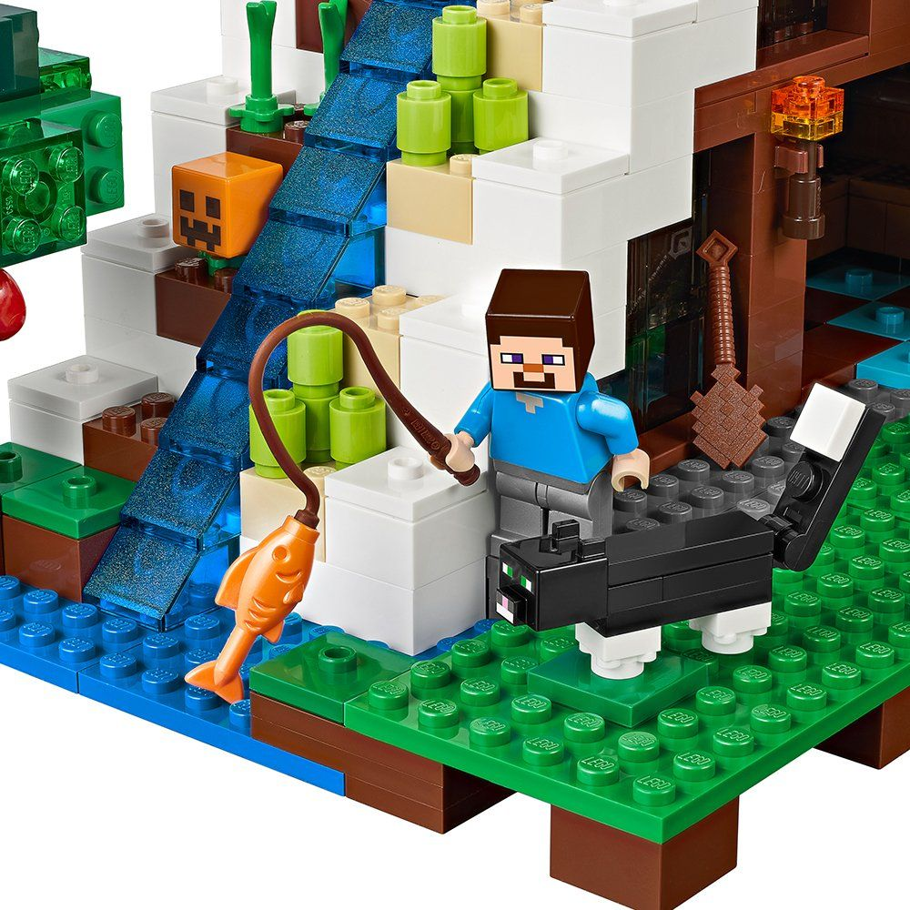 Lego minecraft the waterfall base 21134 learn more by