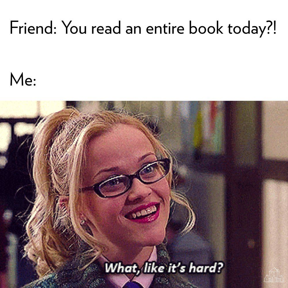 bookish memes #booknerd #bookish #booklover #memes #meme #legallyblonde | Book  memes, Book humor, Book nerd