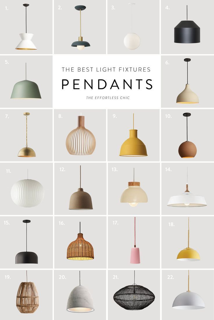 Cool Hunting || 22 of The Best Pendant Lights on the Market - The Effortless Chic