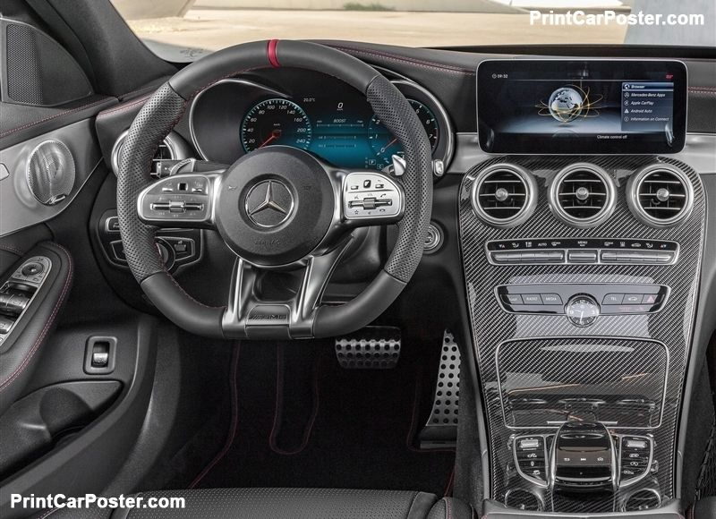 Mercedes Benz C43 Amg 4matic 2019 Poster Benz Mercedes Benz