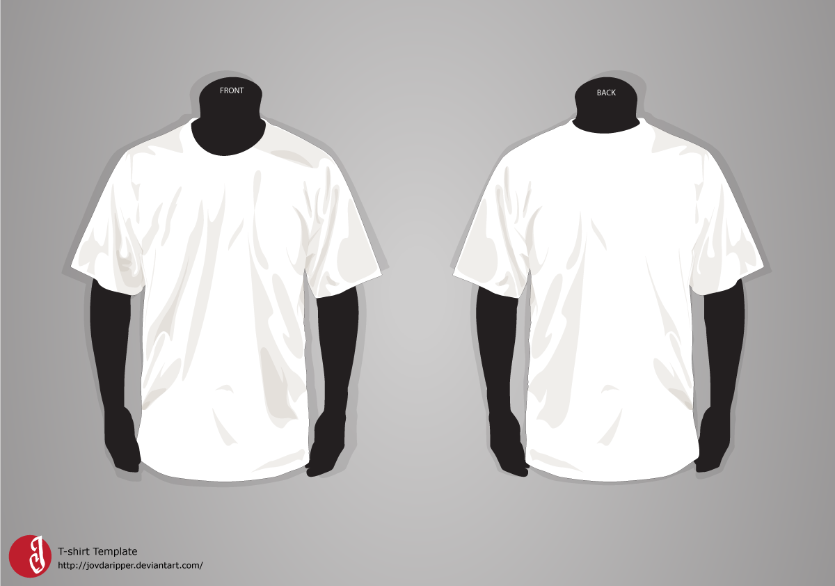Design t shirt transfer template - T Shirt Template Update By Jovdaripper Deviantart Com