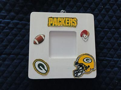NFL Wood Picture Frames - NFL Green Bay Packers Wall or Shelf Picture Frame 005817ebf