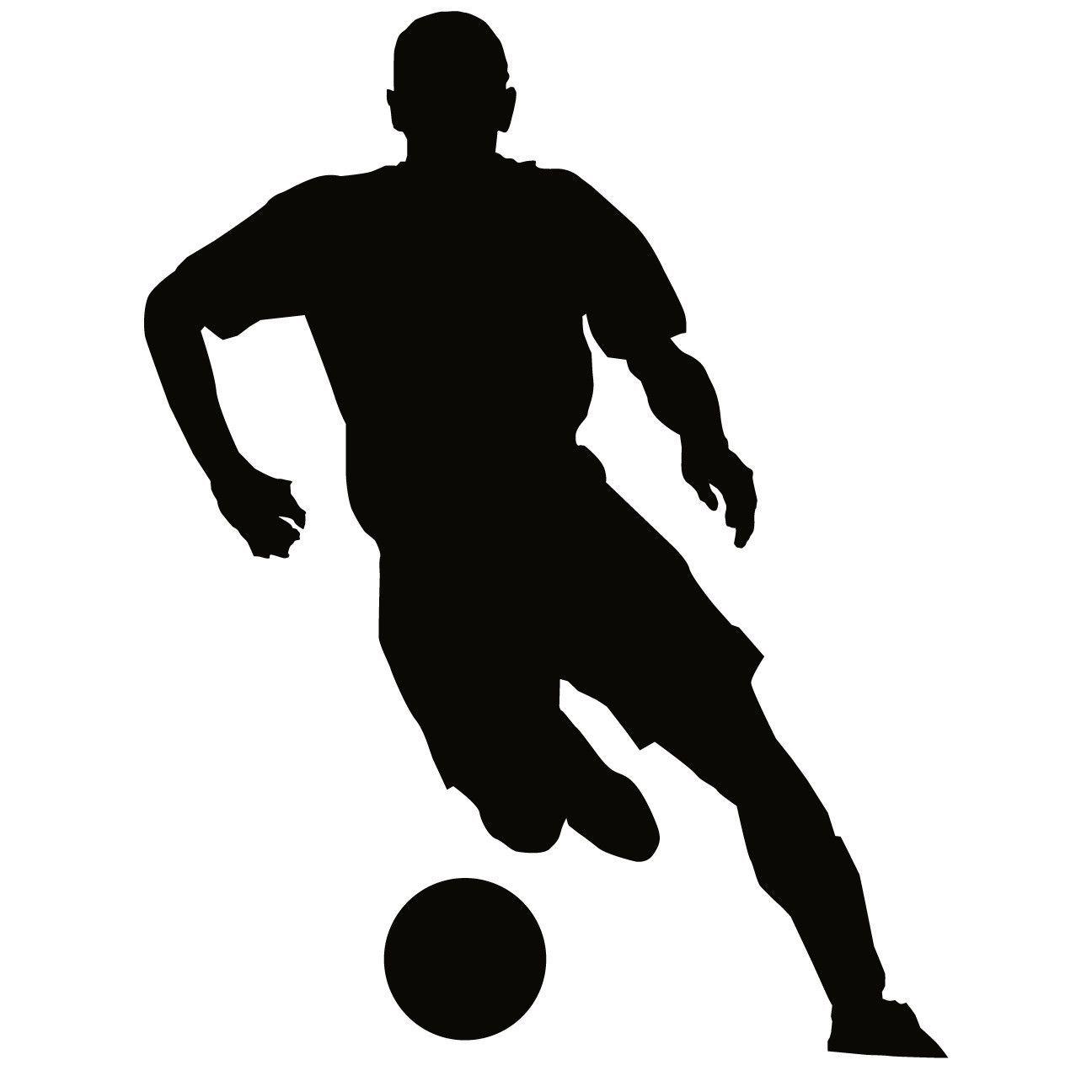 Soccer Football Futbol Wall Decal Sticker 8 | Running ...