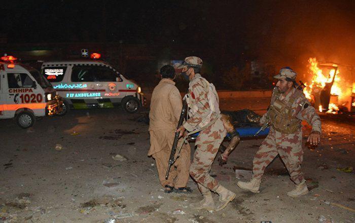 Sputnik Türkiye /// Pakistan'da bombalı saldırı: 15 ölü