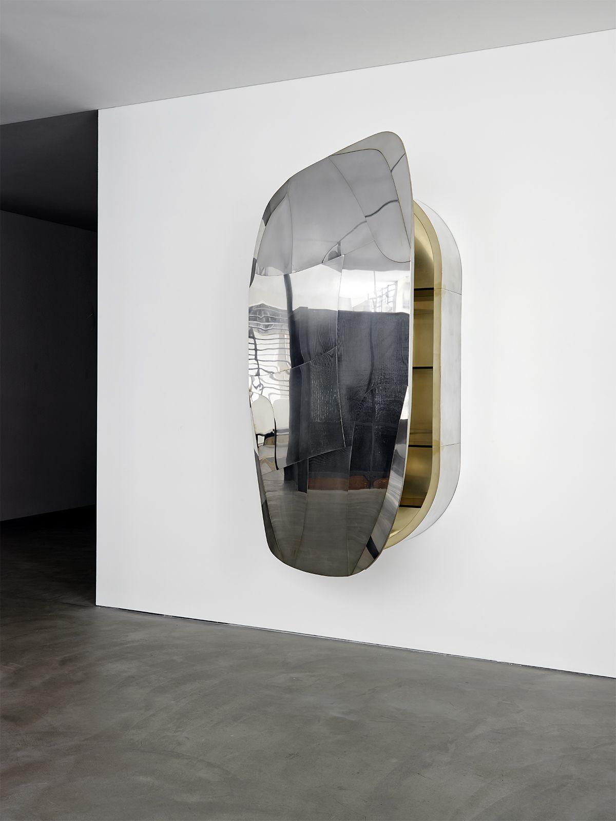 Progetto domestico mirror cabinet wall sculpture for Progetto domestico
