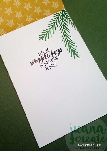 Juana Ambida | Merry Medley Christmas Card. Case This Card Challenge #CTC002…