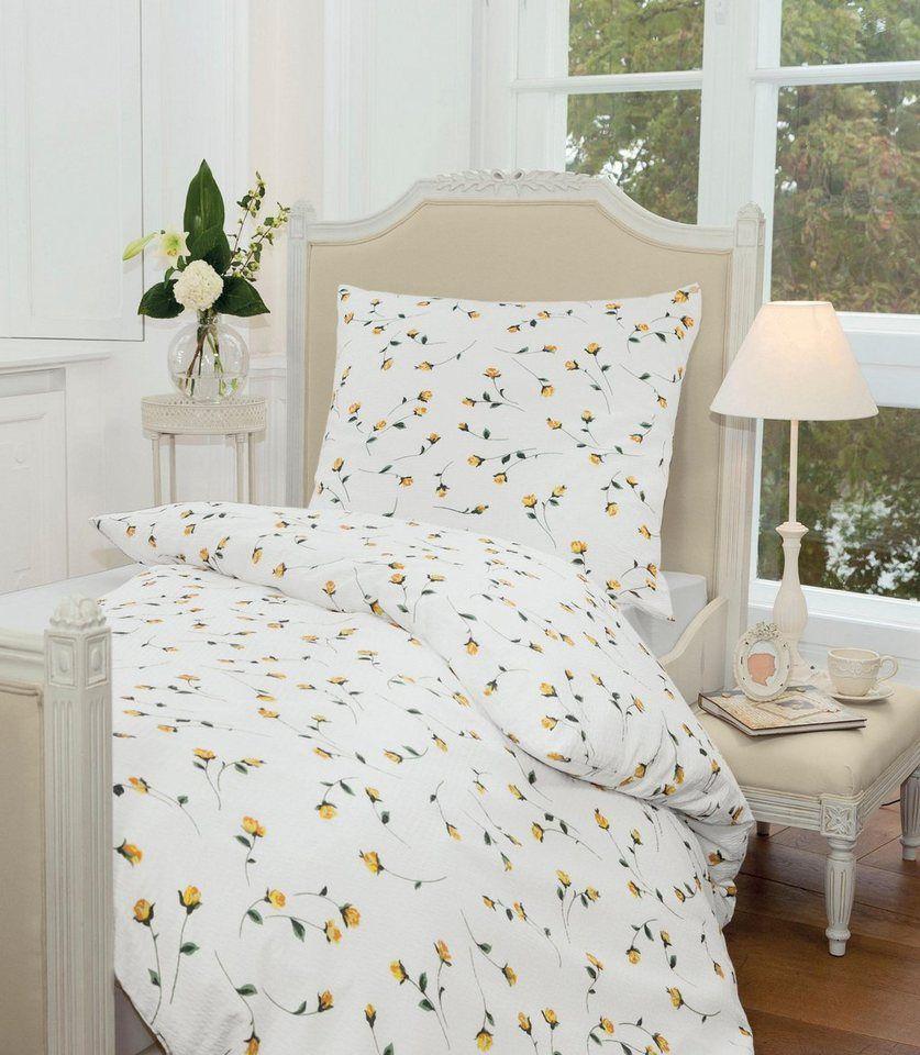 Bettwäsche Summer Roses Janine Mit Detailverliebten Rosen Design