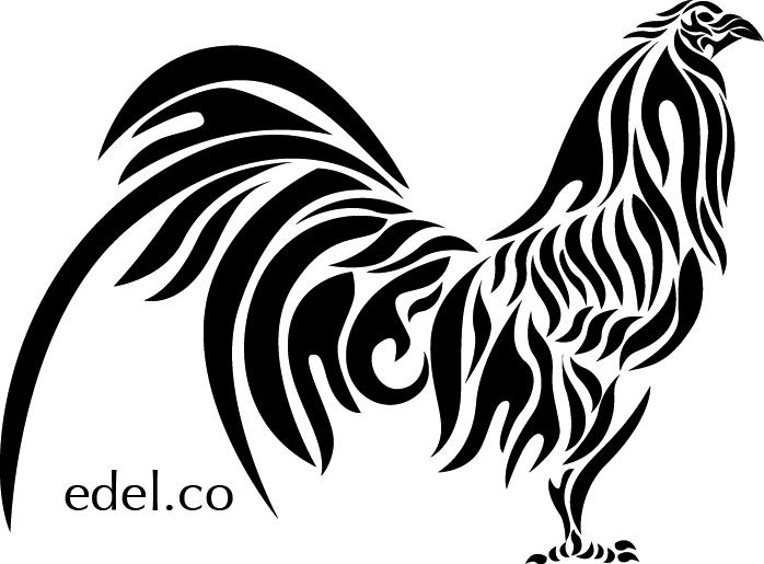 Rooster And Hen Coloring Pages Google Search Rooster Tattoo Rooster Art Rooster Decals