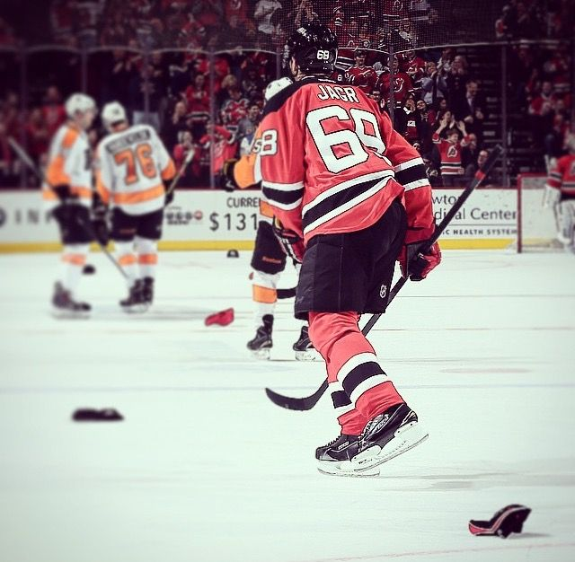 Jagr's 15th career hat-trick at age 42 on January 3rd 2015
