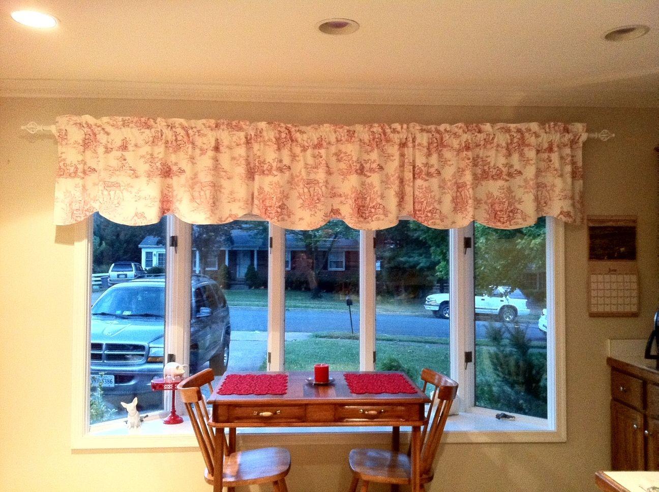 Kitchen Valance Amp Curtain Rod
