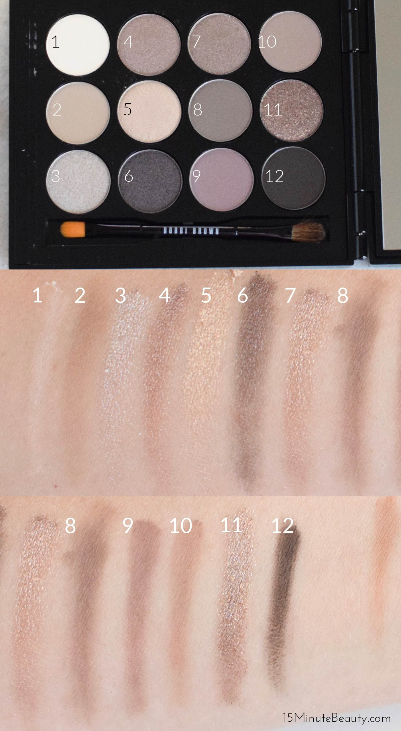 2019 year looks- Hairbest and Beauty drugstore eyeshadow palettes