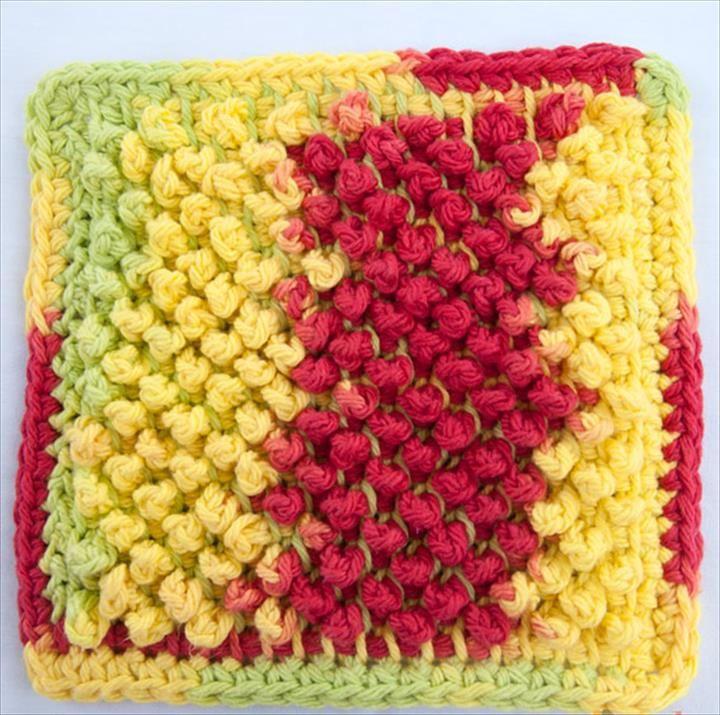 56 Quick Easy Crochet Dishcloth Crochet Dishcloths Easy Crochet