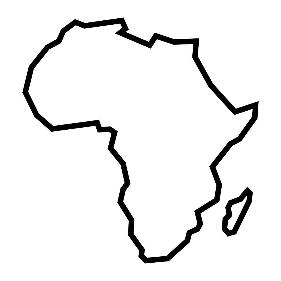 Pin By Diana Hallett On Bookmarks Africa Map Africa Silhouette