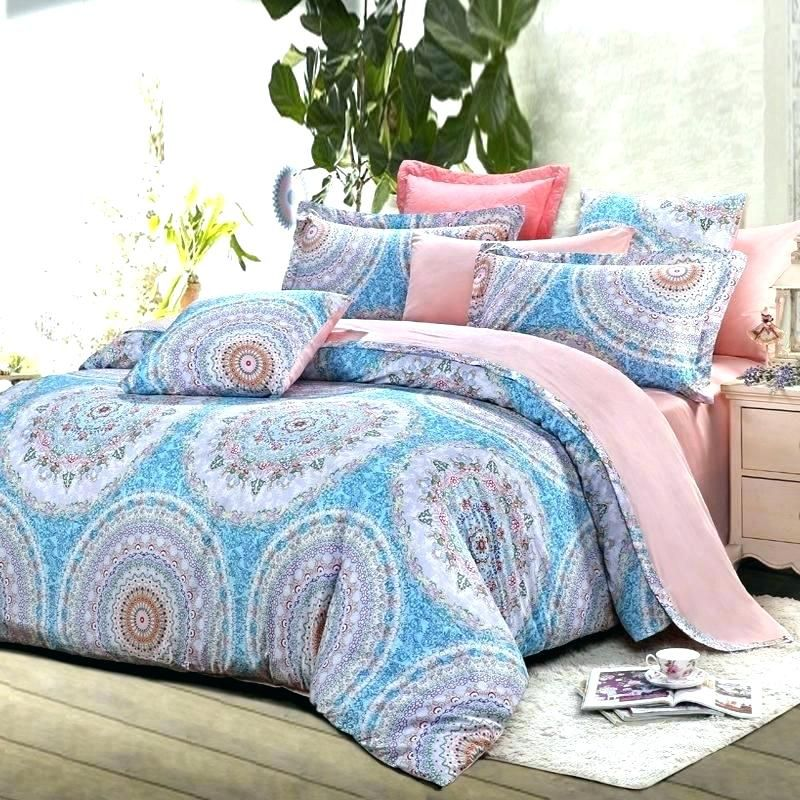 W0615327 Pleasing Light Blue Comforter King Blue Comforter Pink