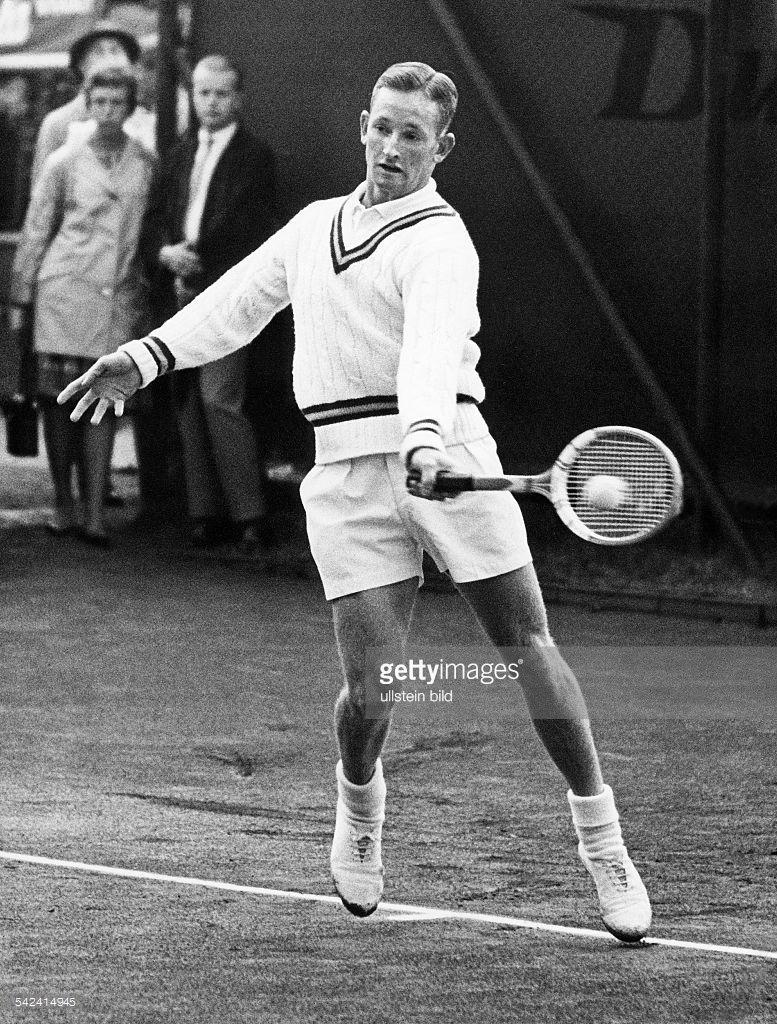 Rod Laver*Sportler, Tennis, Australienbeim Spiel1961