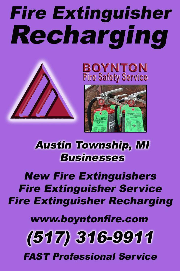 Fire extinguisher recharging austin township517 3169911