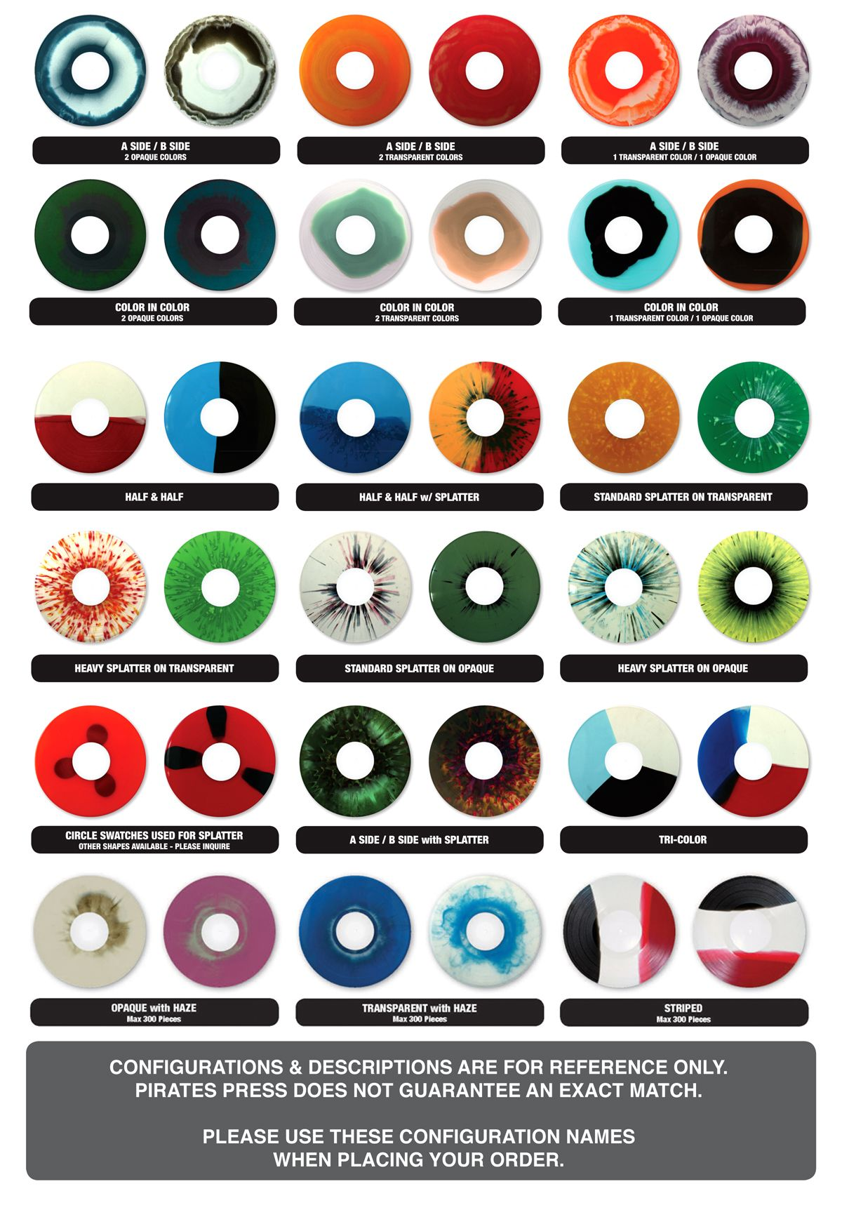 Some Great Coloring Options As Well If We D Like To Mix Colors Regardless They Are Fun To Look At Vinyl Records Music Vinyl Records Vinyl Record Collection