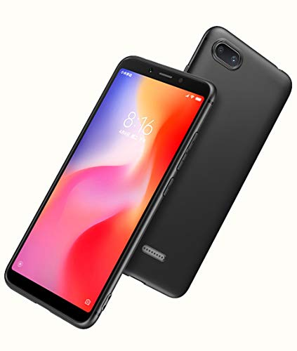 Tarkan Royal Ultra Slim Flexible Soft Back Case Cover 360 Degree Full Protection For Redmi 6a Black Tempered Glass Screen Protector Soft Silicone Cool Designs