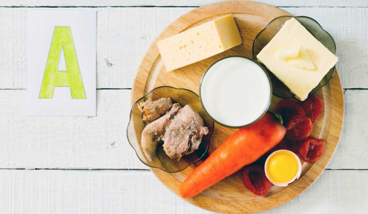 أين يوجد فيتامين أ في الطعام Vitamins Healthy Aging Vitamin A Foods