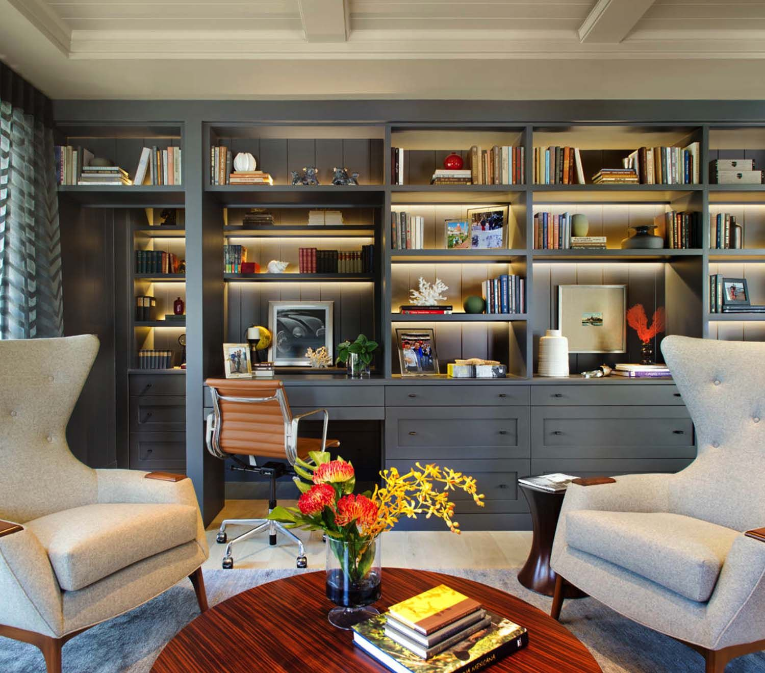 Creative Homeoffice Ideas: 28 Dreamy Home Offices With Libraries For Creative