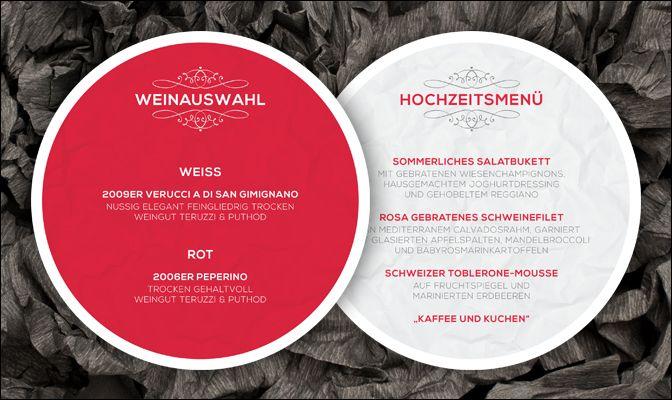 WeddingEve by Hüfner Design, Tim Hüfner, Wedding, Stationary, Papeterie, Design: Simple Pomp Menükarte