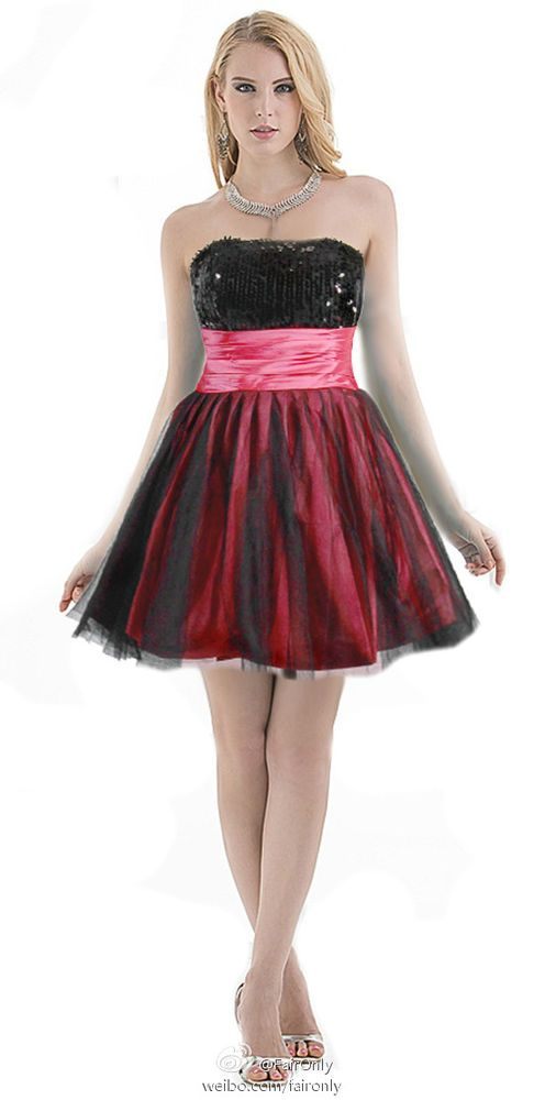 8b4ec3a418a FairOnly Short Girls Homecoming Cocktail Evening Club Dress Size 6 8 10 12  14 16