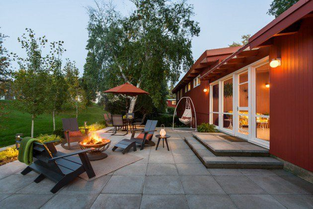 16 Exceptional Mid Century Modern Patio Designs For Your Outdoor