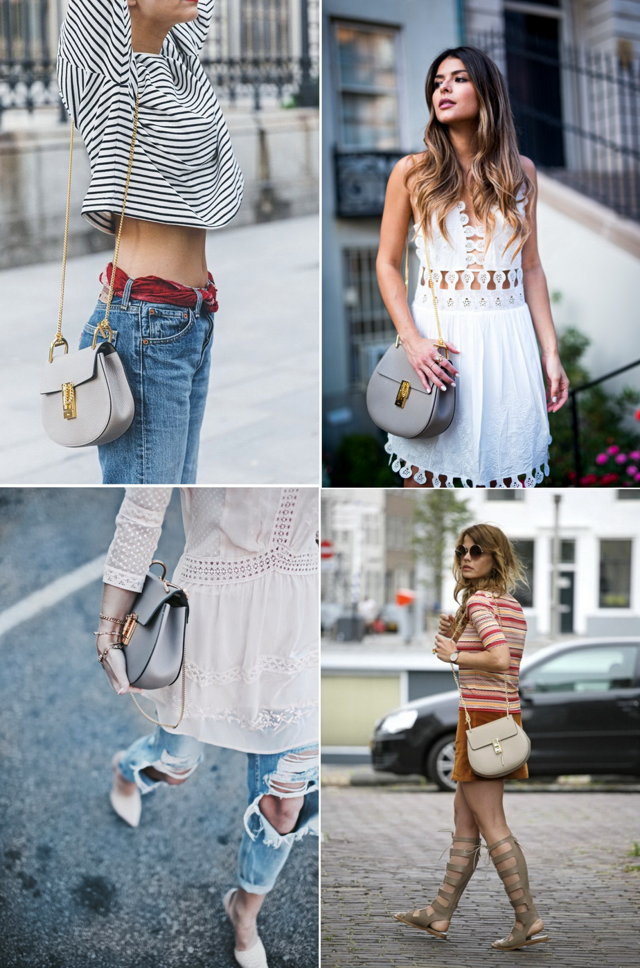 JEANS AND ROSES : I heart / Chloè Drew Bag